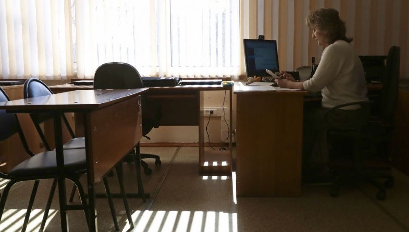 Uczniowie nie uczęszczają w Polscedo szkół od 16 marca (fot. Kirill Kukhmar\TASS via Getty Images, zdjęcie ilustracyjne)