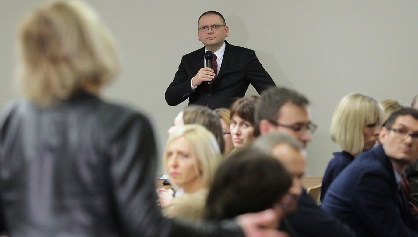 Projekt uchwały olsztyńskich sędziów można odczytać jako wezwanie do popełnienia przestępstwa – uważa sędzia Maciej Nawacki (fot. arch.PAP/Tomasz Waszczuk)
