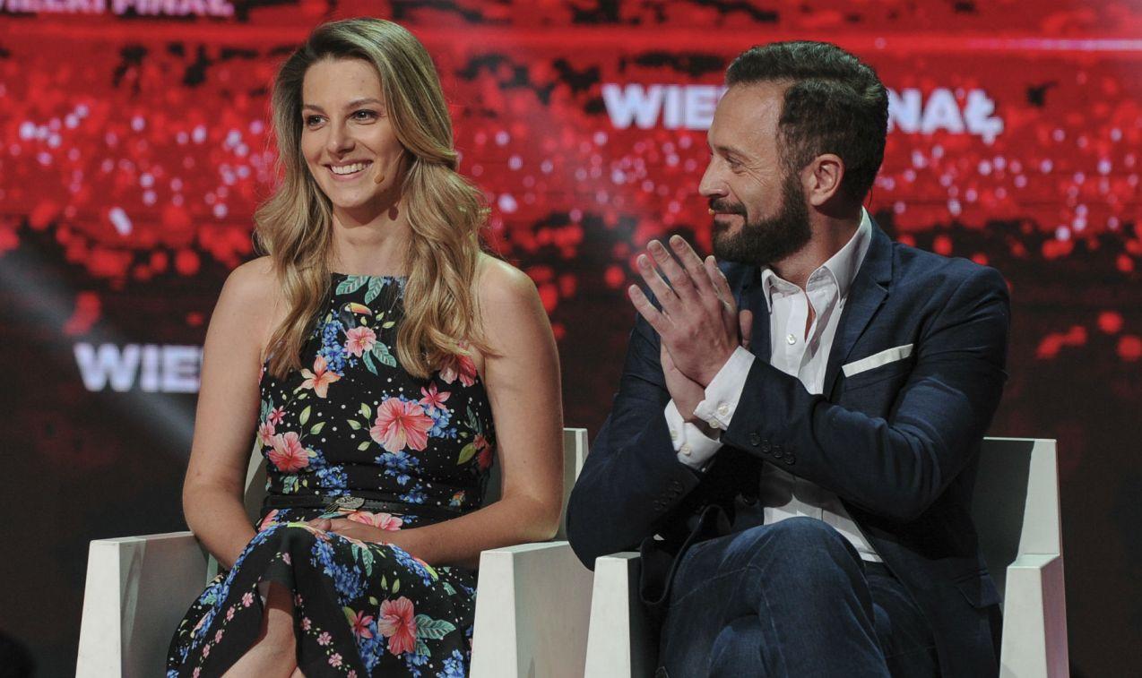 Ostatecznie lepsza okazała się para aktorów (fot. N. Młudzik/TVP)