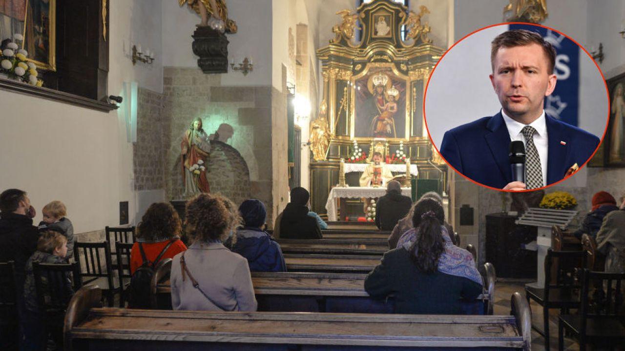 Koronawirus. Kościoły otwarte czy zamknięte? (fot. Widak/NurPhoto via Getty Images, PAP/Radek Pietruszka)