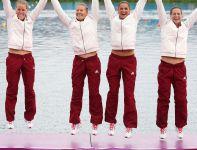 W rywalizacji K4 na 500 metrów mistrzyniami olimpijskimi zostały Węgierki, Polki zajęły czwarte miejsce (fot. Getty Images)