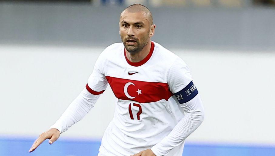 Burak Yilmaz to filar reprezentacji, gracz nie do zastąpienia (fot. Getty Images)