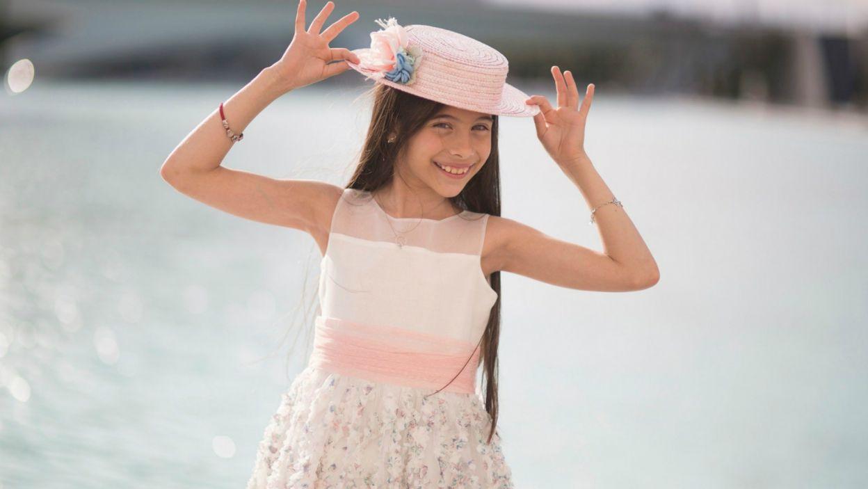 W gliwickiej Arenie, po 13 latach przerwy do konkursu powróci Hiszpania! A stanie się to za sprawą 12-letniej Melani Garcii (fot. RTVE)