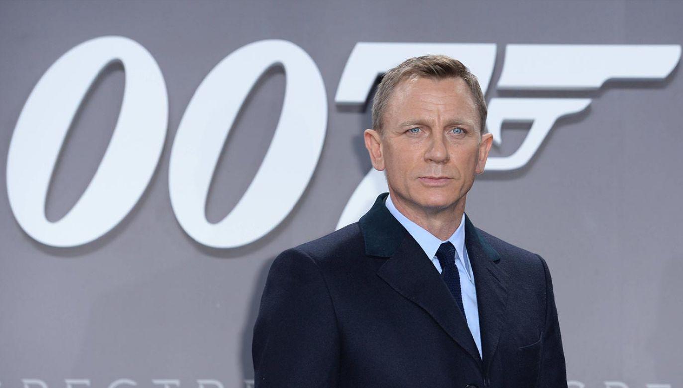 Daniel Craig był szóstym aktorem, który wcielał się w rolę Jamesa Bonda (fot. BRITTA PEDERSEN/dpa/pap)