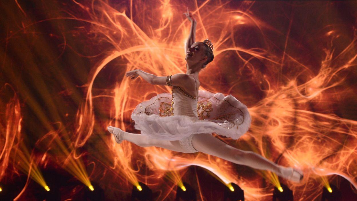 """Jako pierwsza wystąpiła Anna Smatchenko. Jej finałowa propozycja to wariacja Gamzatti z baletu """"Bajadera"""" (fot. Jan Bogacz)"""