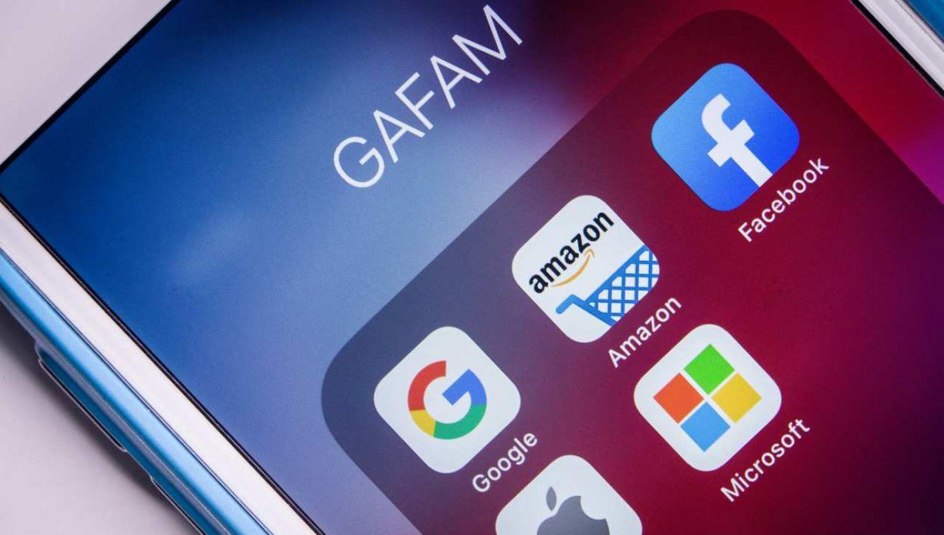 Pakiet ustaw jest owocem wieloletnich dyskusji i obrad Kongresu na temat dominującej pozycji cyfrowych korporacji (fot. Shutterstock/Koshiro K)