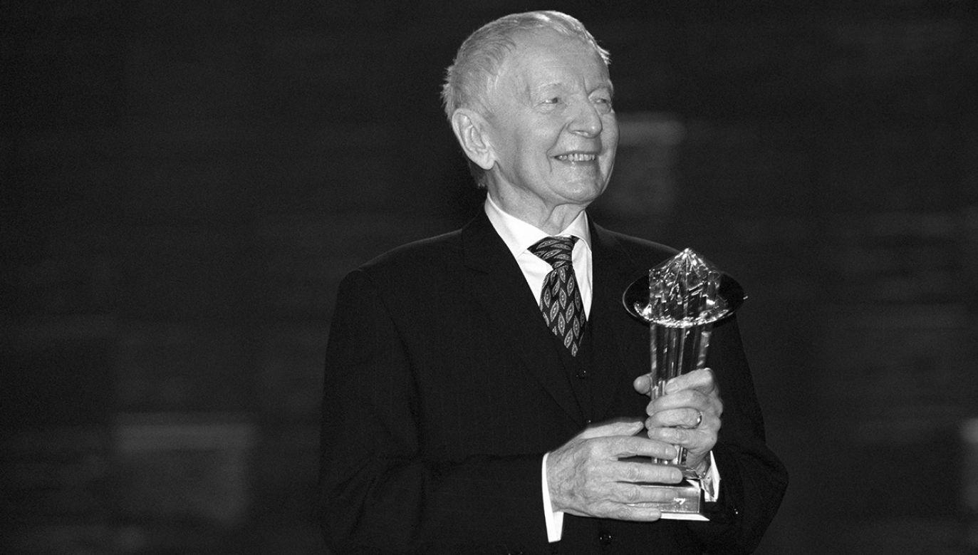 Adam Słodowy miał 96 lat (fot. arch. PAP/TVP/Ireneusz Sobieszczuk)