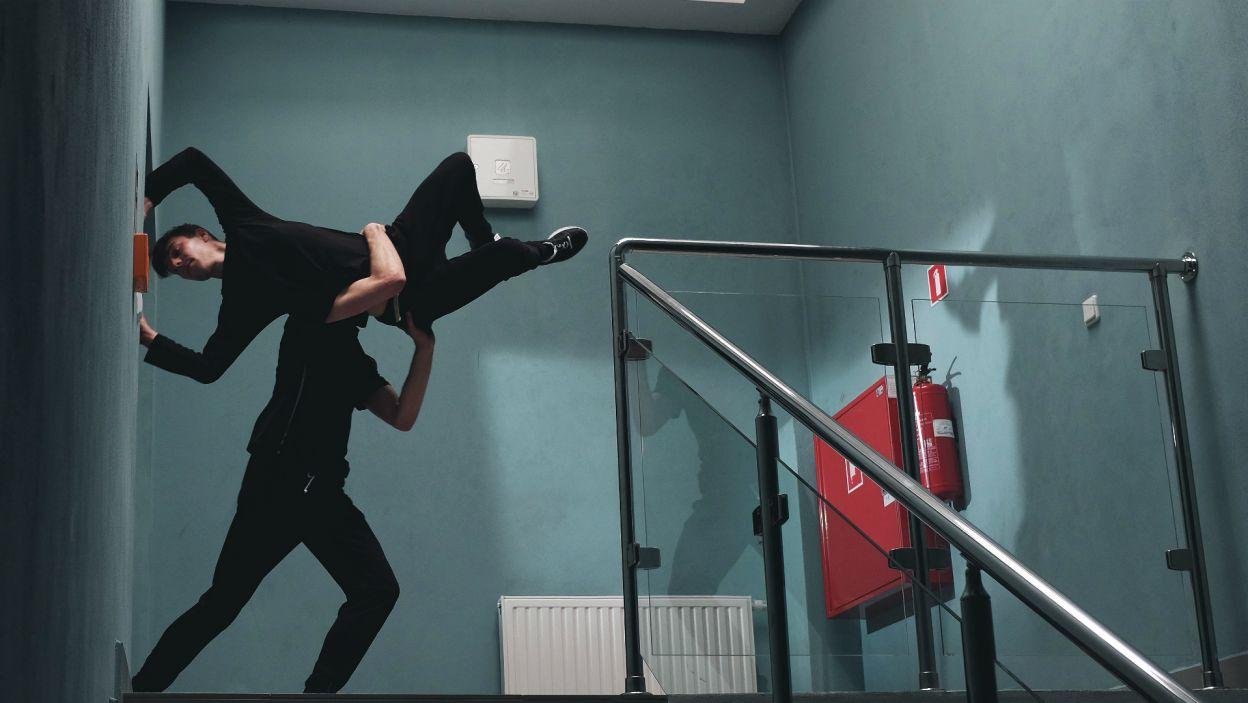 Dla Patryka przestrzeń codzienna jest miejscem tworzenia wyjątkowych choreografii (fot. Z. Gąsiorowska)