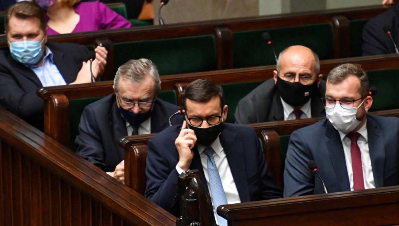 Opozycja krytykowała pracę ministra rolnictwa Grzegorza Pudy (fot. PAP/Piotr Nowak)