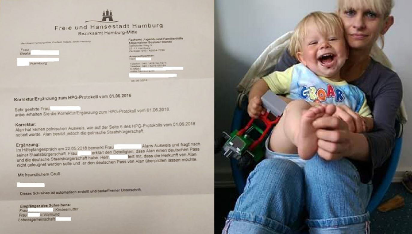 Pani Beata, która walczy o dziecko, dowiedziała się o jego nowym obywatelstwie przez przypadek (fot. portal TVP.info)