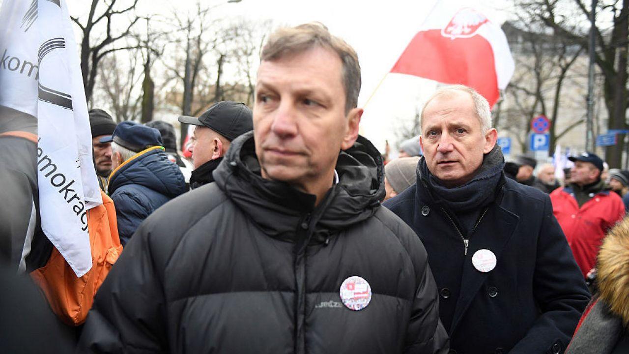 Andrzej Halicki komentuje spór w PO (fot. Maciej Gillert/Gallo Images Poland/Getty Images)