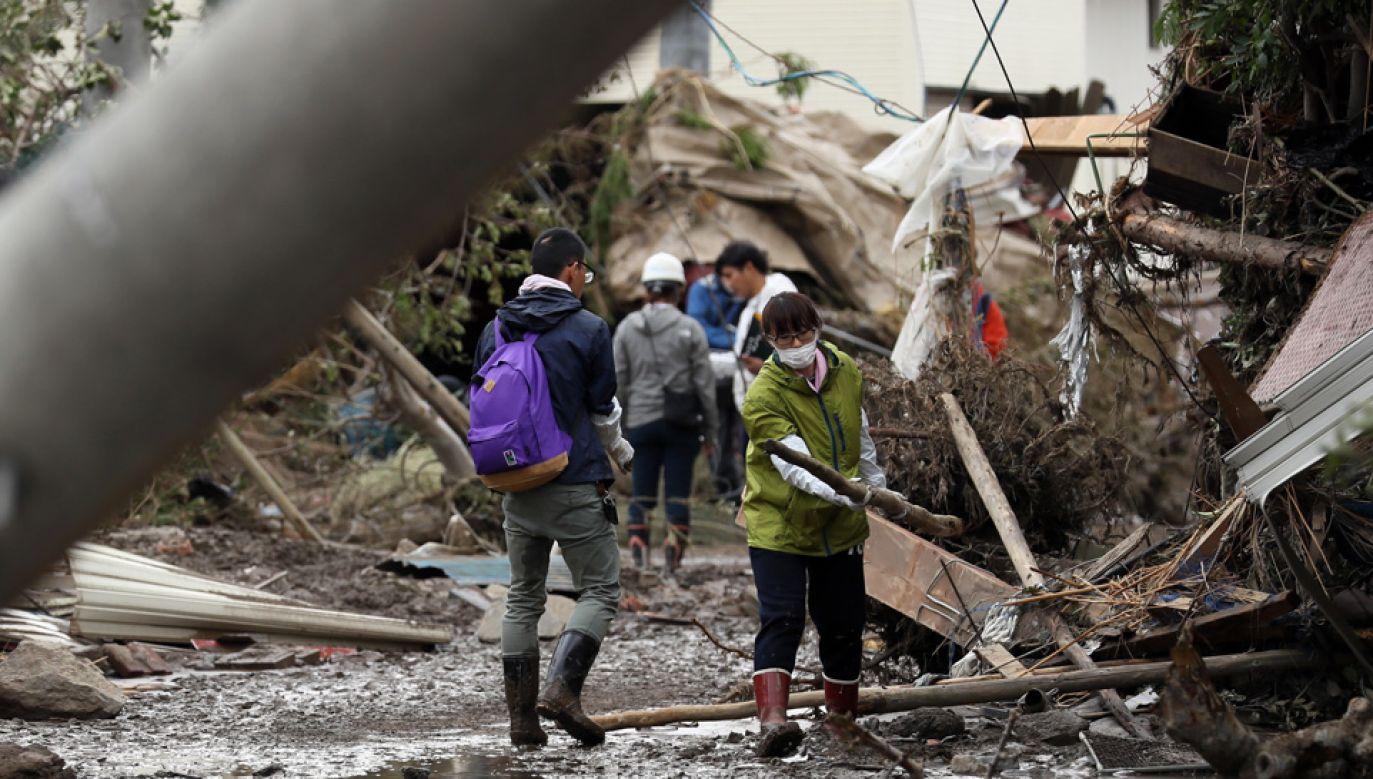 Bilans ofiar może jeszcze wzrosnąć (fot. PAP/EPA/JIJI PRESS)