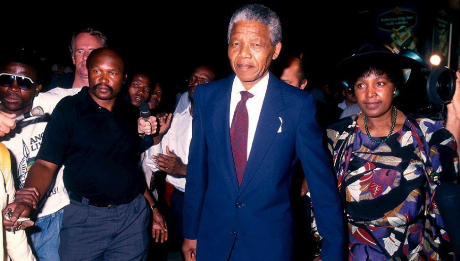Winnie Madikizela-Mandela do końca walczyła o majątek po byłym mężu (fot. PAP/EPA/STR)