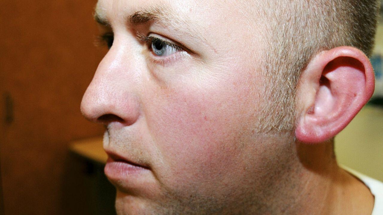 28-letni Darren Wilson zrezygnował ze służby (fot. PAP/EPA/ST. LOUIS COUNTY PROCECUTORS OFF)