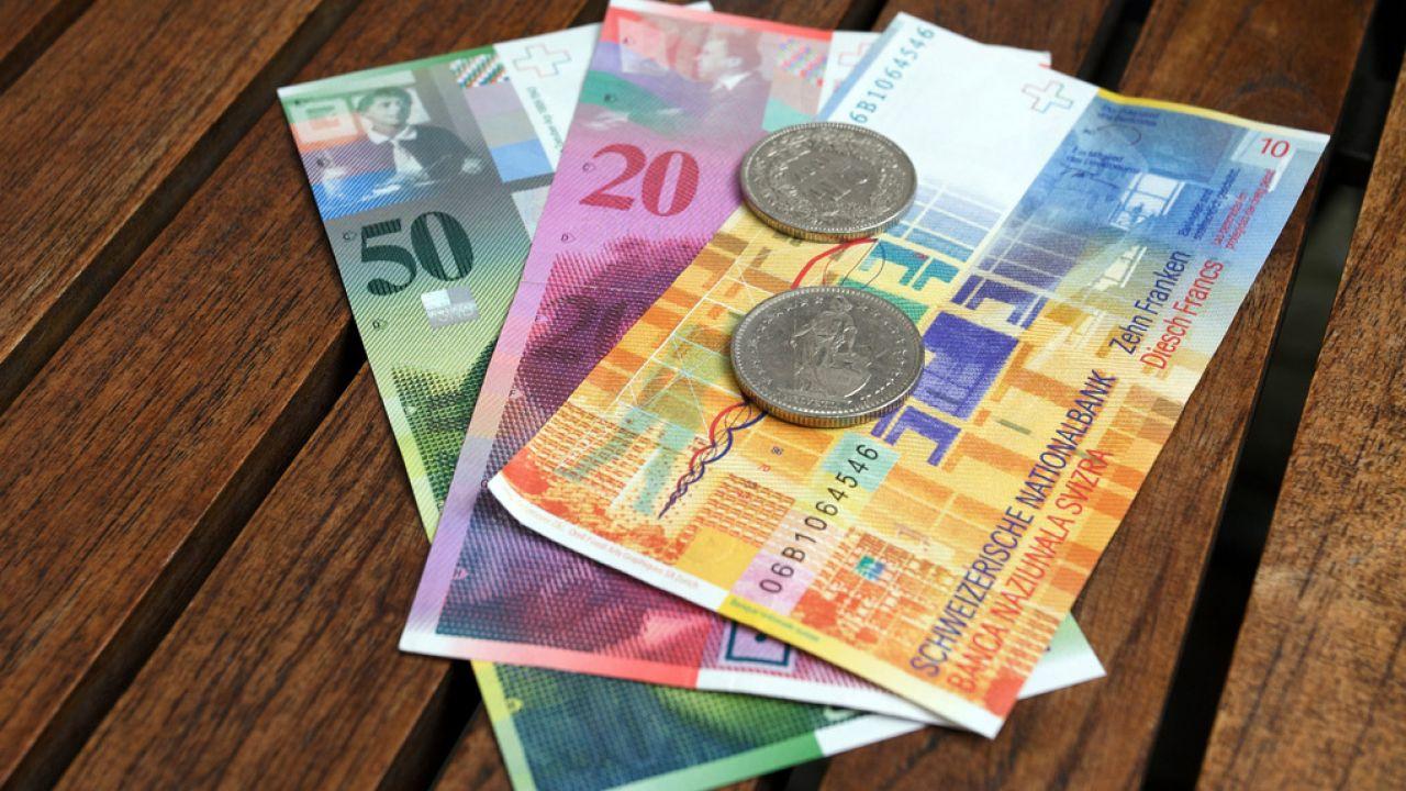 Kurs franka może pójść znacznie w górę (fot. flickr.com/Dirk Olbertz)