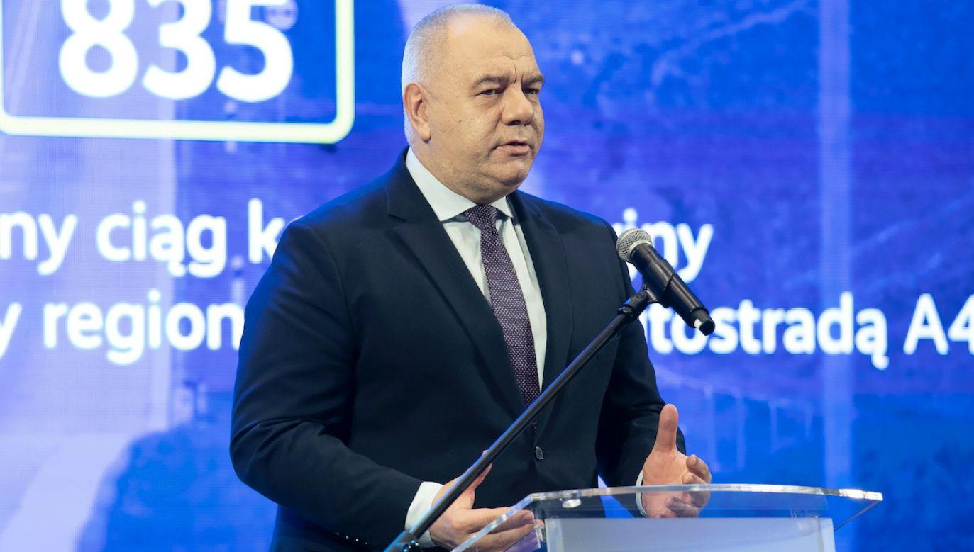 Jacek Sasin (fot. arch.PAP/Jacek Szydłowski)