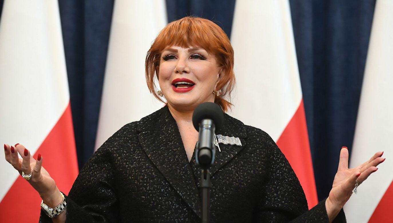 Ambasador opublikowała swój wpis zarówno w języku polskim, jak i w języku angielskim (fot. PAP/Radek Pietruszka)