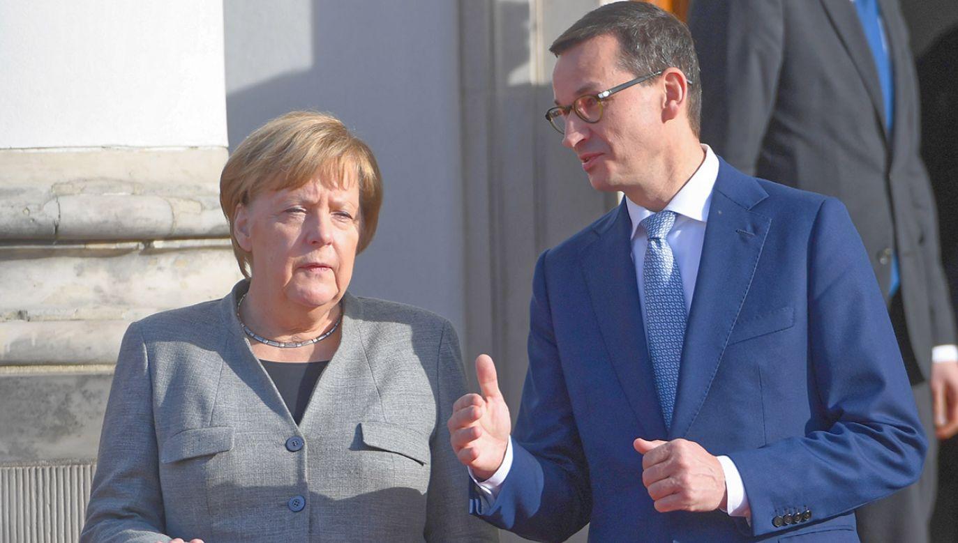 Morawiecki spotka się z ustępującą kanclerz Niemiec (fot. arch.PAP/Radek Pietruszka)