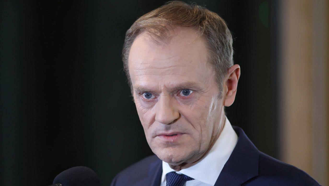 """""""Szczują Polaków przeciw drugim"""" – napisał (fot.arch.PAP/Leszek Szymański)"""