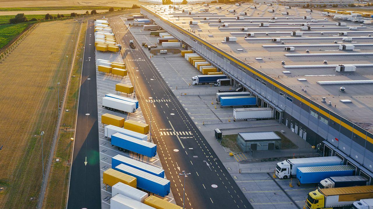 Polski eksport towarów wzrósł o 1 proc. (fot. Shutterstock)