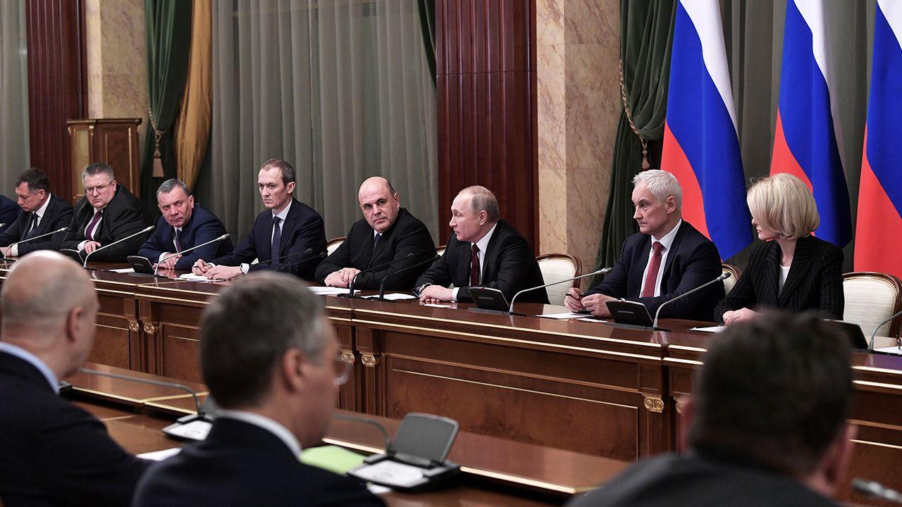 """""""To co mówi Siergiej Naryszkin to jest to zamówienie polityczne"""" (fot. Alexei Nikolsky\TASS via Getty Images)"""