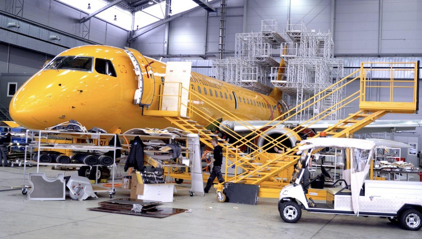 Airbus Polska chce zmienić zasady wynagradzania pracowników (fot. arch.PAP/Darek Delmanowicz, zdjęcie ilustracyjne)