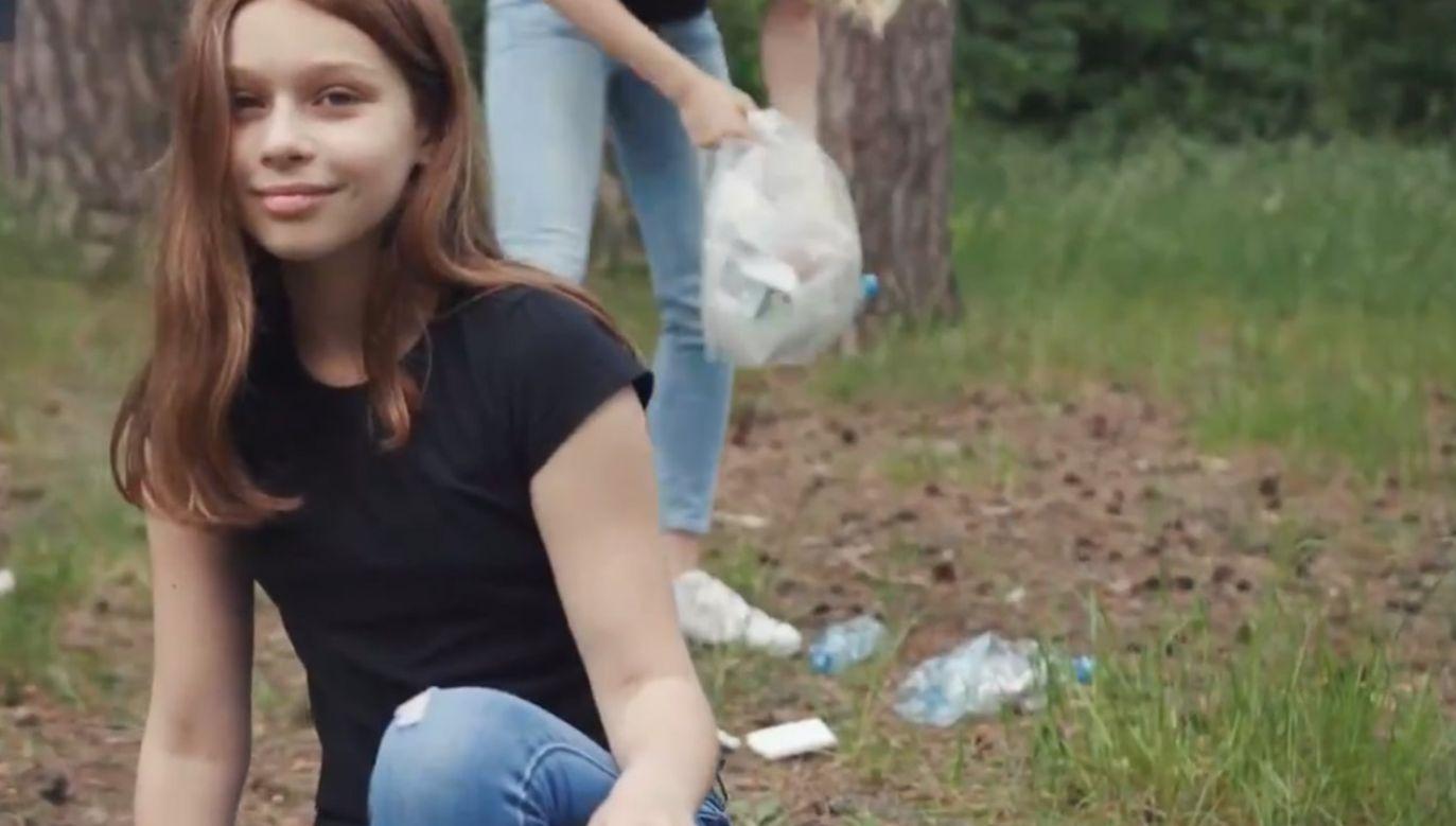 Oficjalne rozpoczęcie akcji #sprzątaMY odbędzie się w pobliżu Broku (fot. yt/@prezydentpl)