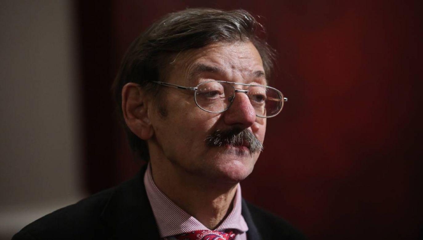 Dr Jerzy Targalski miał 69 lat (fot. PAP/Rafał Guz)