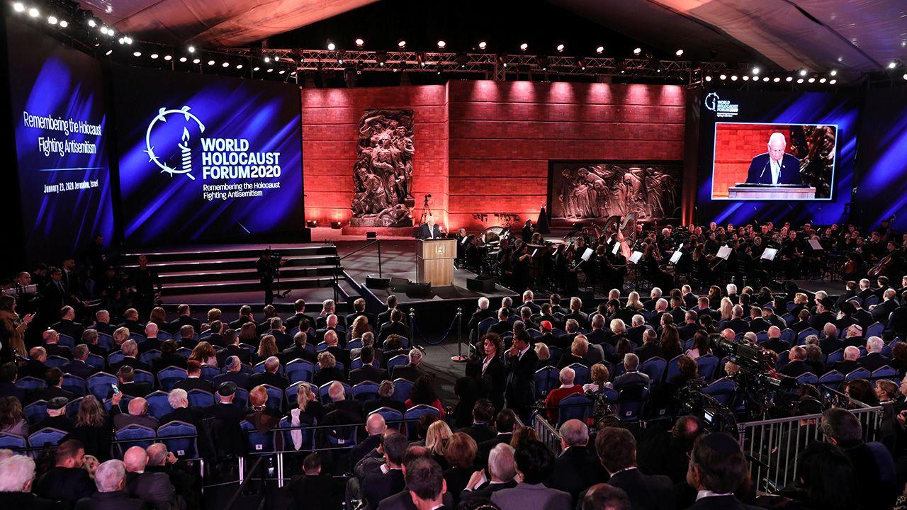 W Jerozolimie odbyło się Światowe Forum Holocaustu (fot. Abir Sultan/Pool via REUTERS)