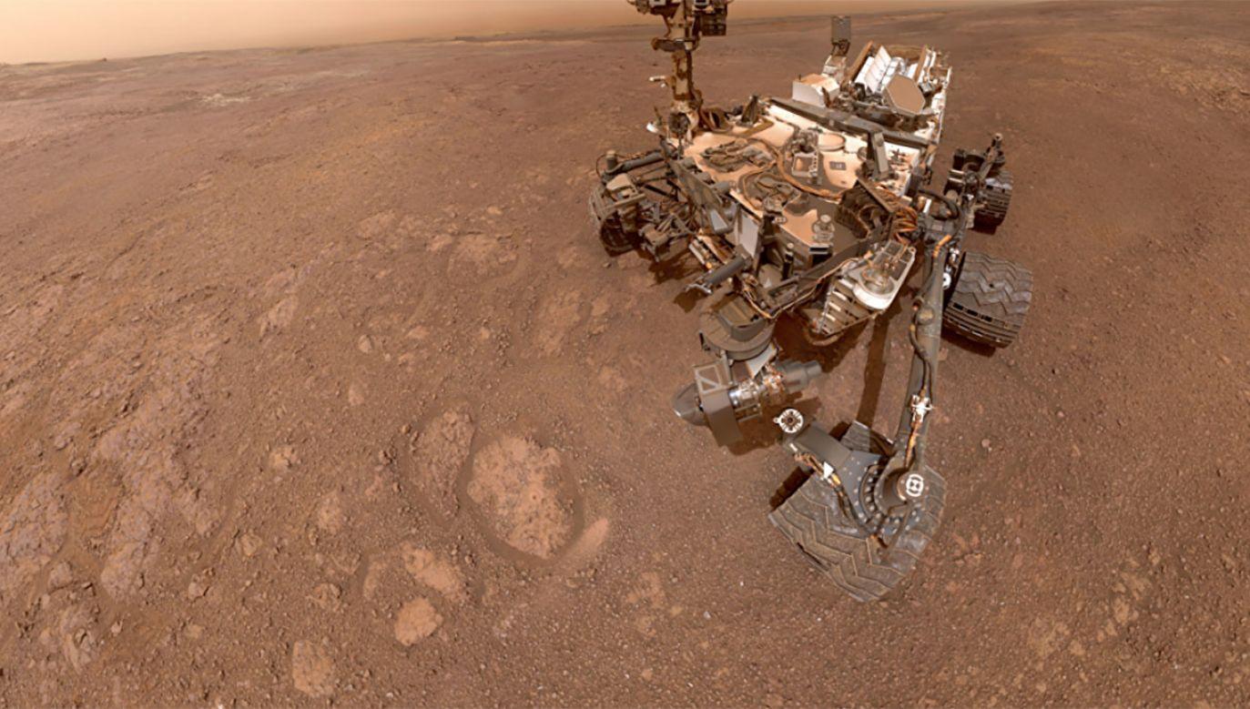 Mars mógł utracić nawet 80 proc. swojej wody (fot. NASA)