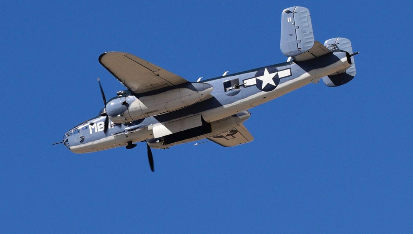 Bombowiec został zestrzelony podczas II wojny światowej (fot. Lyle Setter/Icon Sportswire via Getty Images, zdjęcie ilustracyjne)