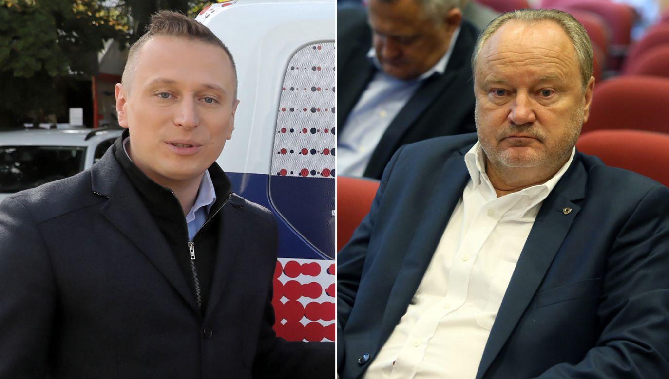 Poseł PiS mówi, że na własnej skórze sprawdził, do czego zdolny jest szef sztabu Koalicji Obywatelskiej (fot. PAP/Tomasz Gzell)