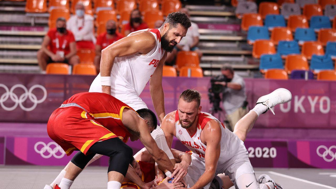 Polscy koszykarze 3x3 (fot. Getty Images)