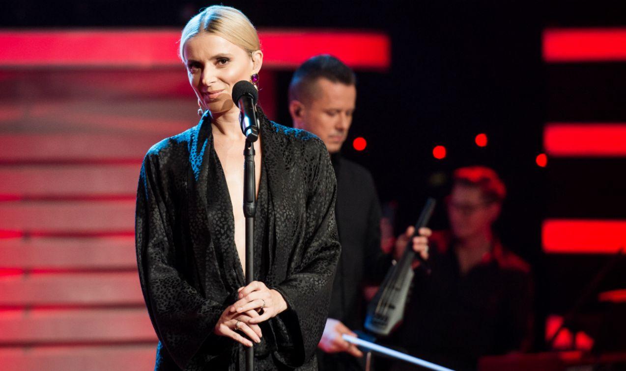 ... a muzycznego wsparcia udzieliła Halinka Mlynkowa (fot. J. Bogacz/TVP)