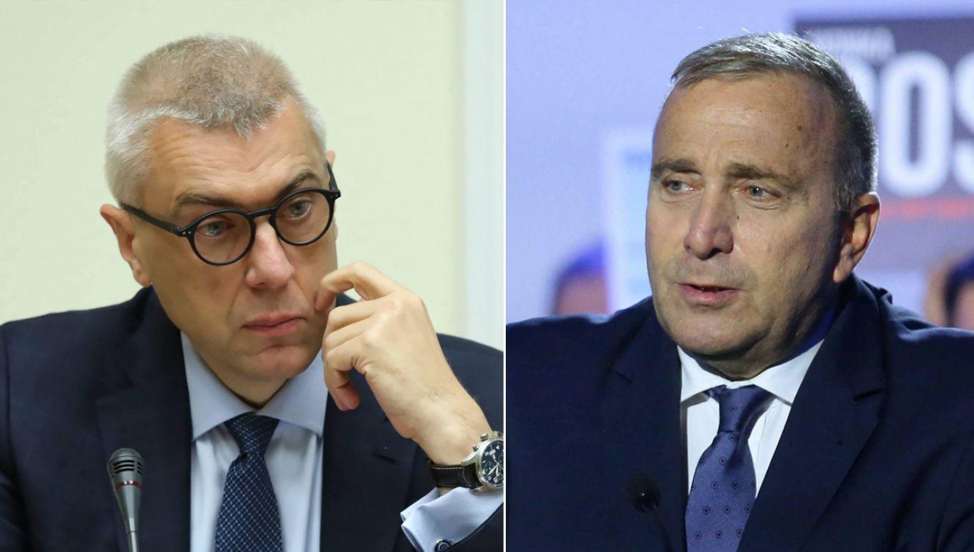 Grzegorz Schetyna nie zgadza się z protestami wyborczymi złożonymi w poniedziałek przez PiS. KO jednak także planuje złożenie podobnych wniosków do Sądu Najwyższego (fot. arch. PAP/PAP/Andrzej Grygiel/Tomasz Gzell)