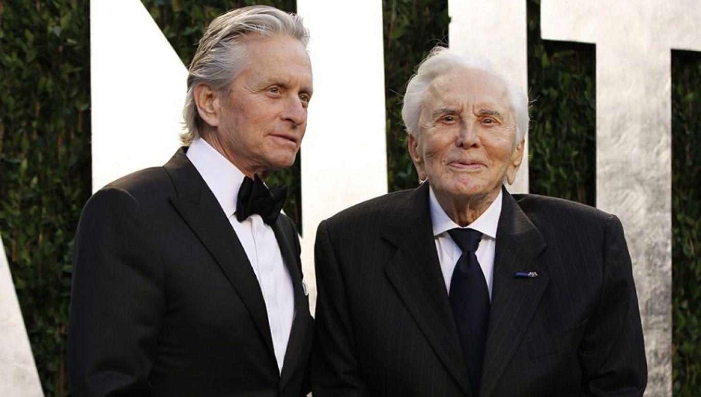 Kirk Douglas posiadał 61 milionów dolarów (fot. Reuters Pictures/Danny Moloshok)