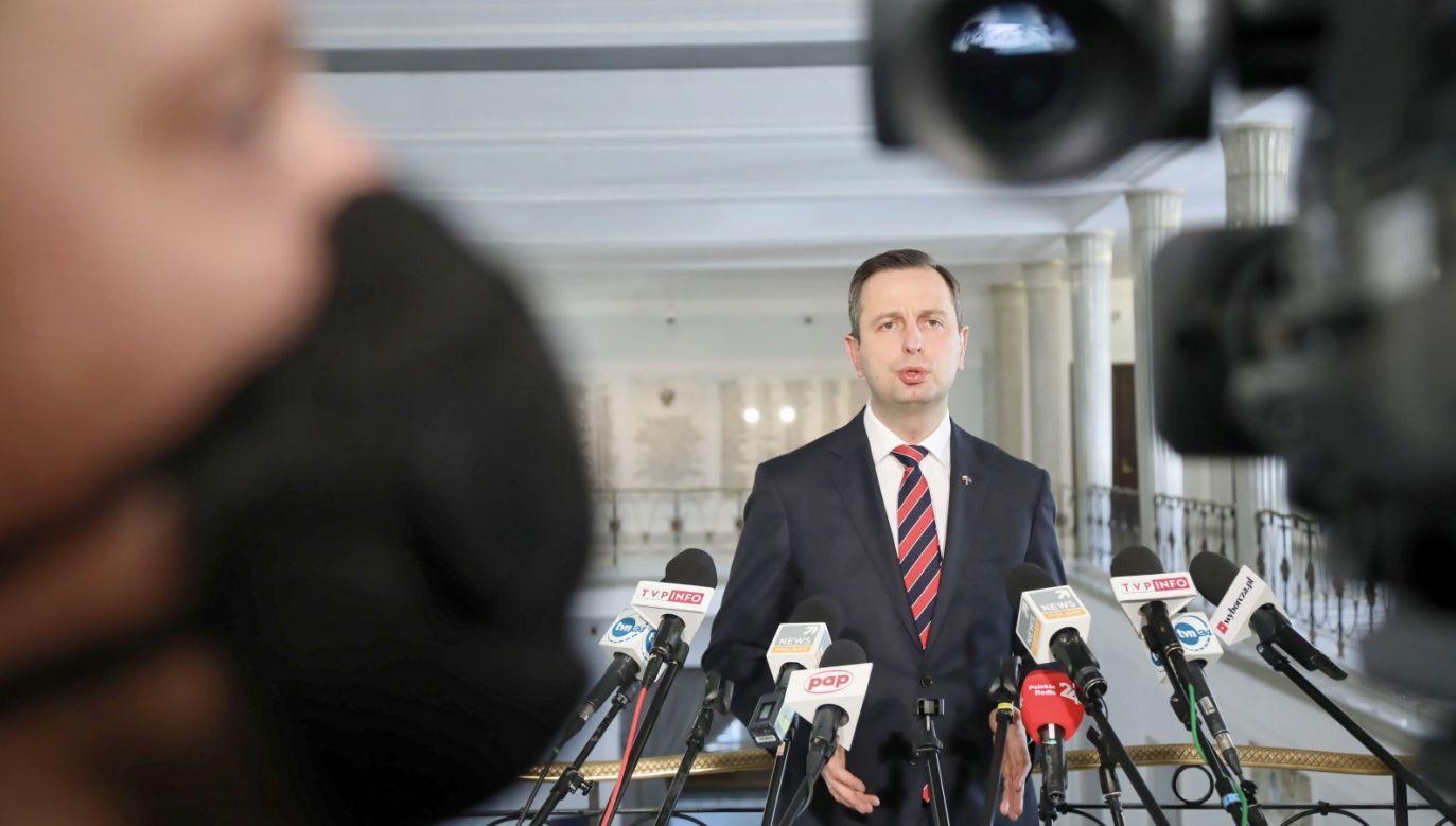 Billboardy Władysława Kosiniaka-Kamysza powodem kolejnych sporów między politykami opozycji (fot. PAP/Wojciech Olkuśnik)