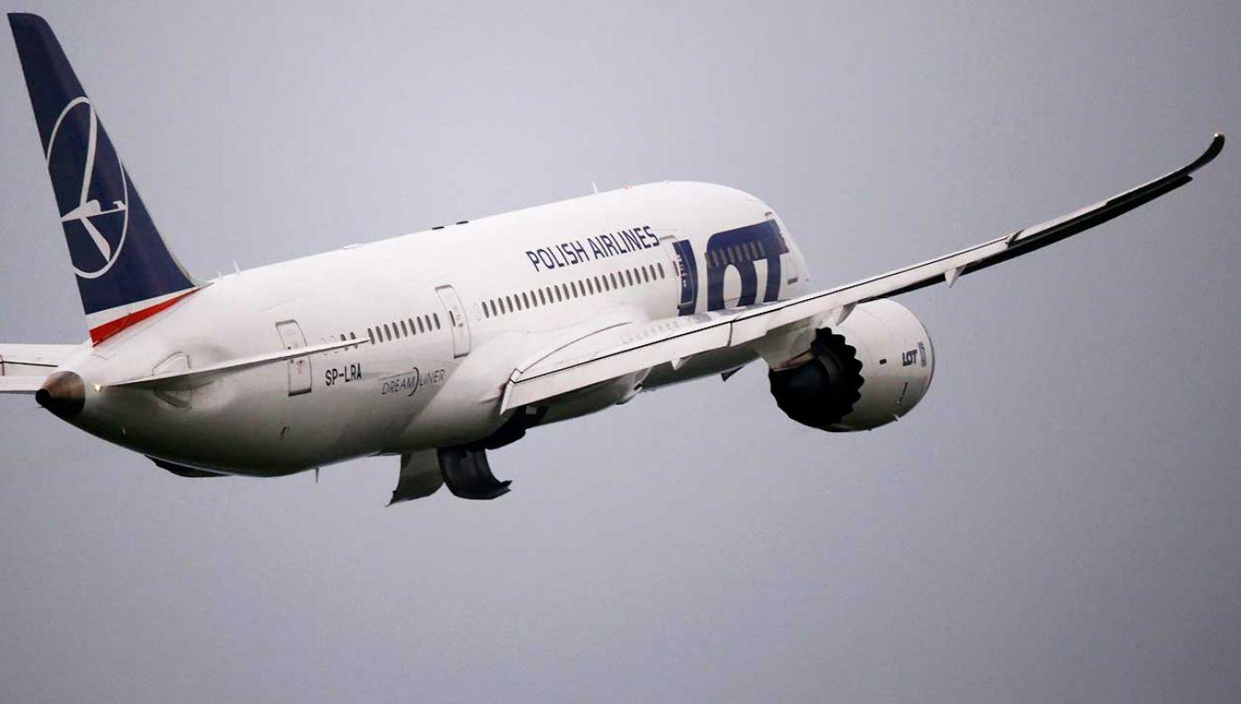 Wszystkie rejsy będą wykonywane szerokokadłubowymi dreamlinerami (fot. REUTERS/Kacper Pempel)