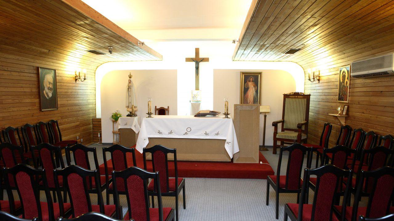 Kaplica sejmowa pw. Bogurodzicy Maryi Matki Kościoła (Fot. Sejm/Krzysztof Białoskórski)