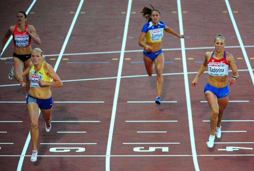 Szwedka Moa Hjelmer wygrała bieg na 400 metrów (fot. Getty Images)