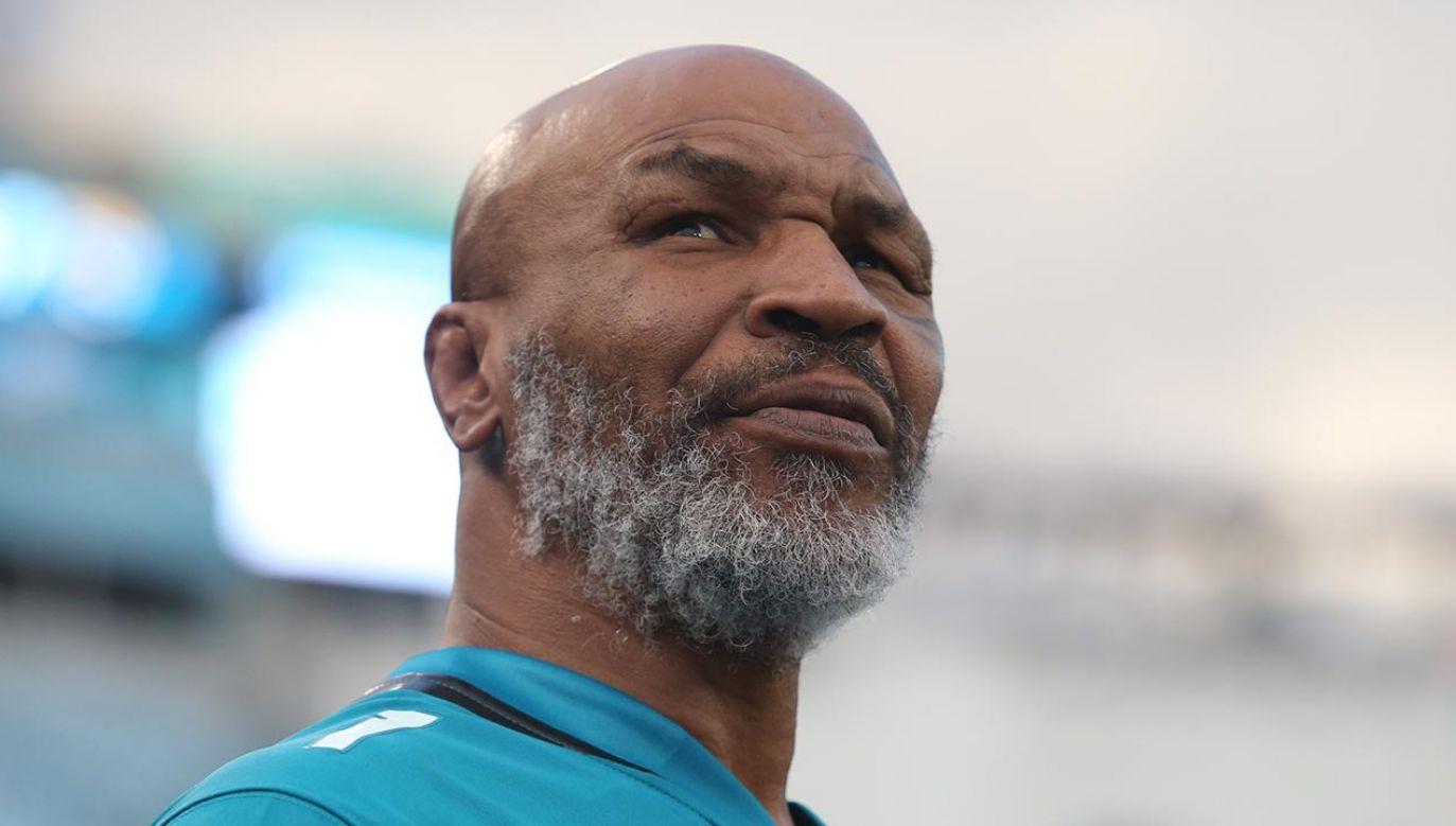 Mike Tyson był najlepszym pięściarzem świata w końcówce XX wieku (fot. David Rosenblum/Icon Sportswire via Getty Images)