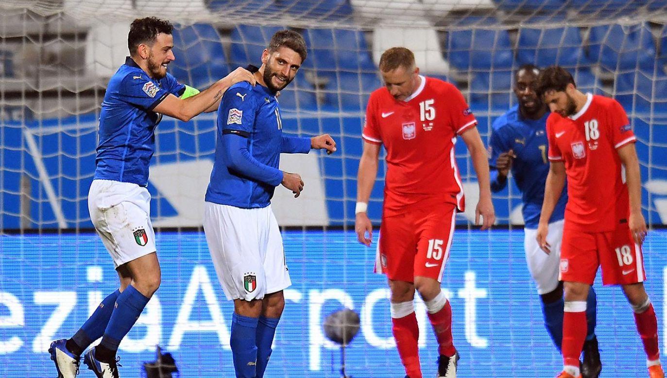 Kamil Glik był bezradny wobec ataków Włochów (fot. Alessandro Sabattini/Getty Images)