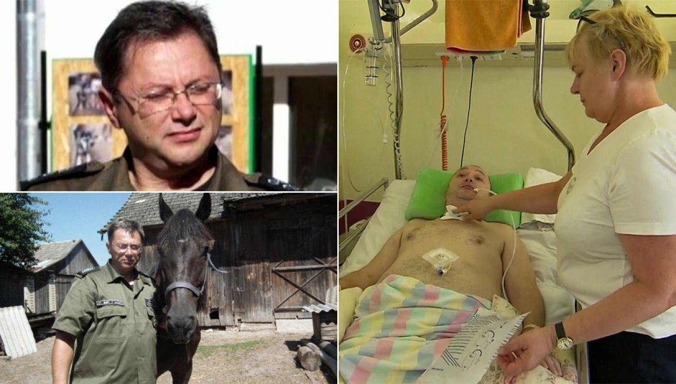 Zdzisław Małysz ma żal do belgijskich lekarzy (fot. TVP1/arch.pryw.)