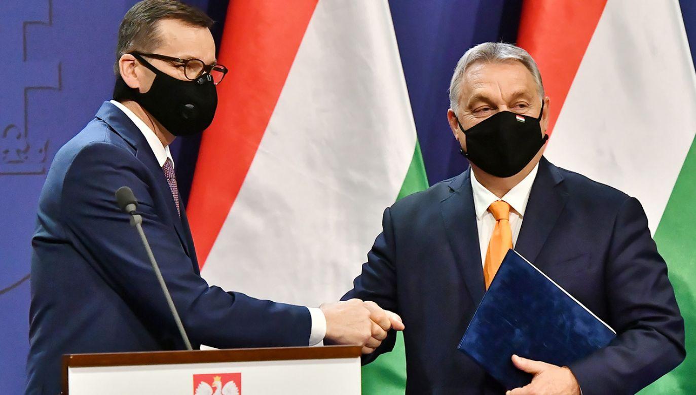 Oświadczenie podpisano w czwartek w Budapeszcie (fot. PAP/Andrzej Lange)