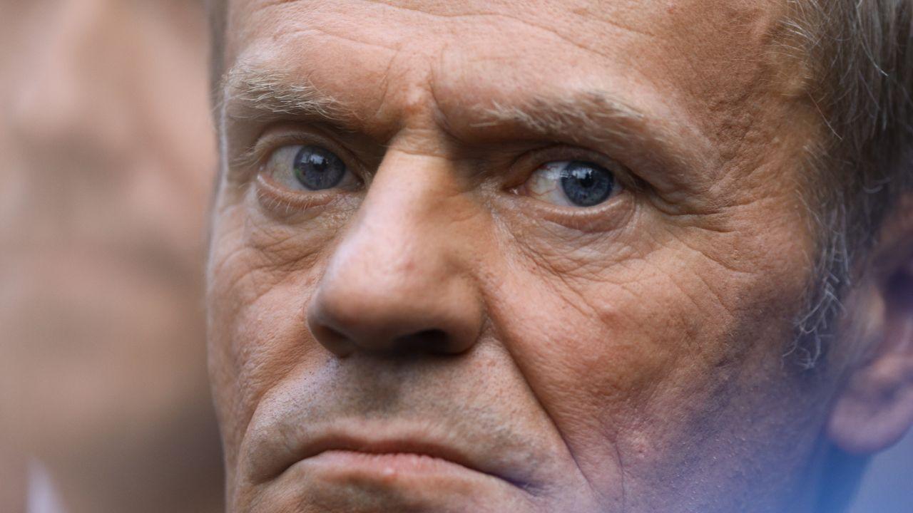 Donald Tusk, szef Platformy Obywatelskiej (fot. STR/NurPhoto via Getty Images)