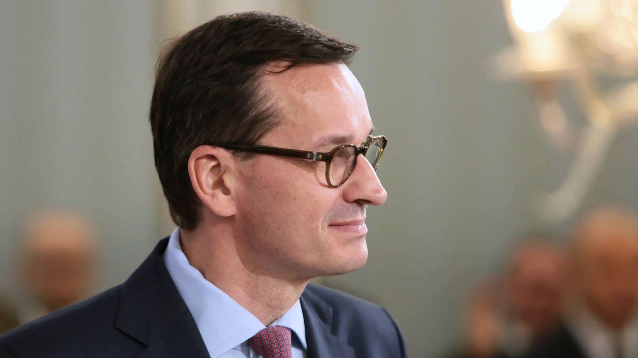 – Nie można udawać, że problemu nie ma. Przez alkohol co roku w Polsce umiera 10 tys. osób – powiedział premier Mateusz Morawiecki (fot. PAP/Radek Pietruszka)