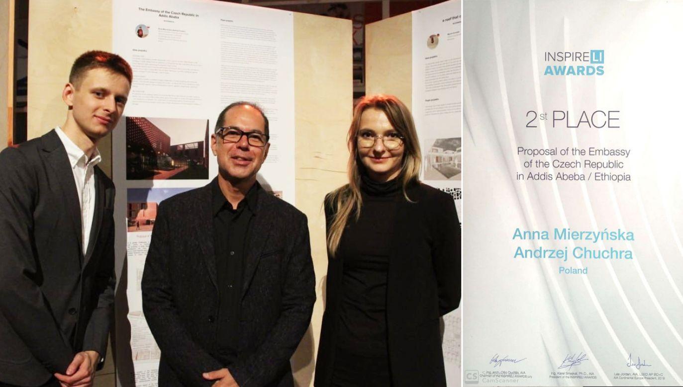 Anna Mierzyńska i Andrzej Chuchra zajęli drugie miejsce (fot. ZUT)