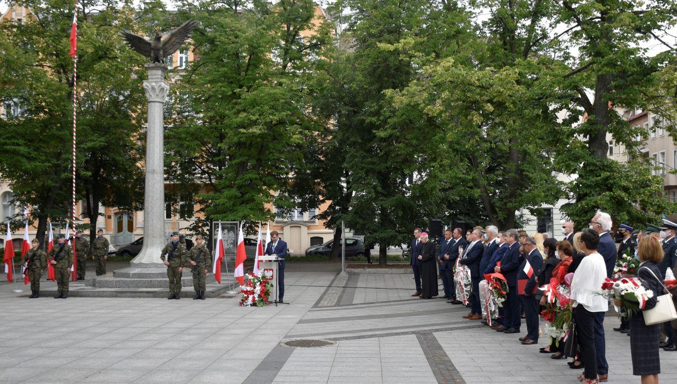 W Olsztynie odbyły się wojewódzkie obchody rocznicy (fot. Twitter/W-M Urząd Wojewódzki w Olsztynie)