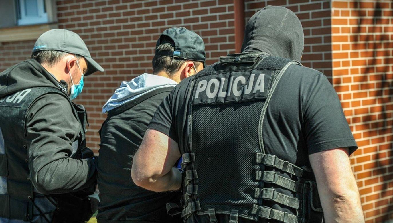 Wszyscy podejrzani zostali tymczasowo aresztowani (fot. Policja)