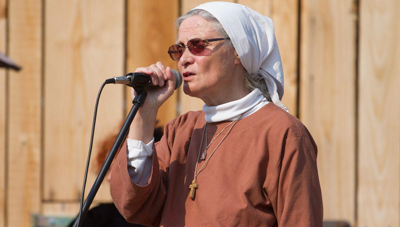 Siostra Małgorzata Chmielewska (fot. arch.PAP/Michał Walczak)